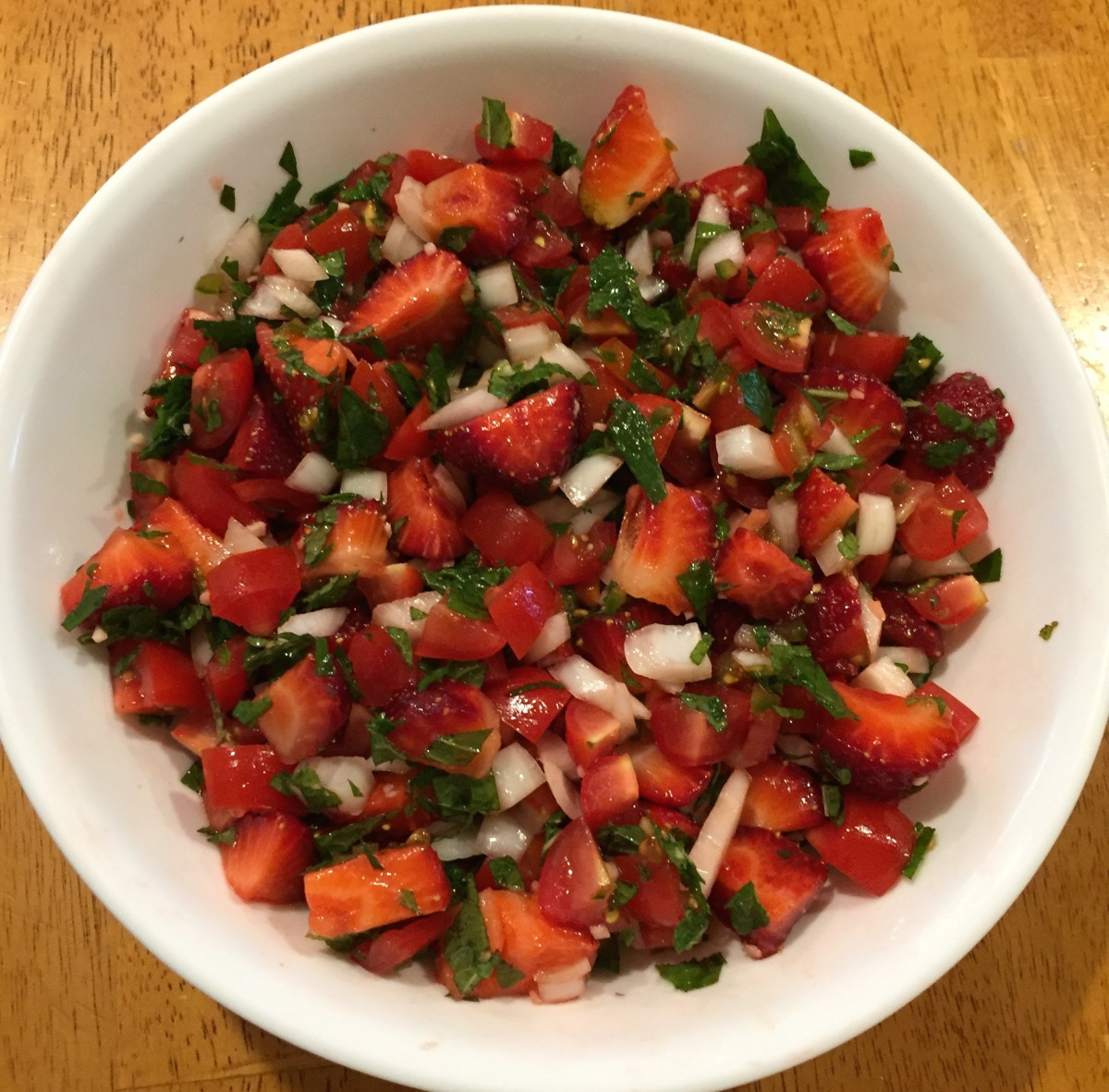 Strawberry Mojito Salad