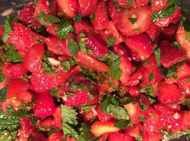 Strawberry Mohito Salsa – Version 2