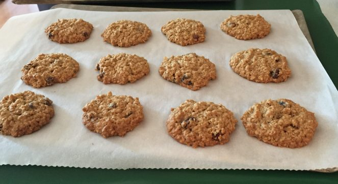 oatmeal raisin done