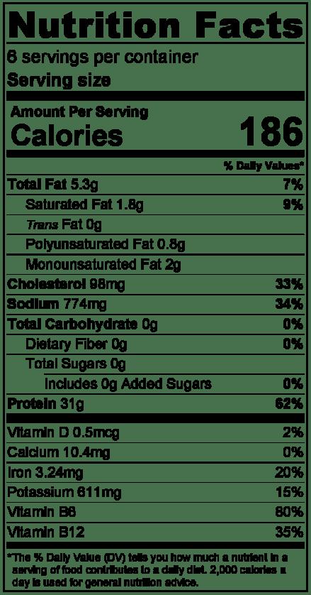 bicentennial-porknutritionlabel