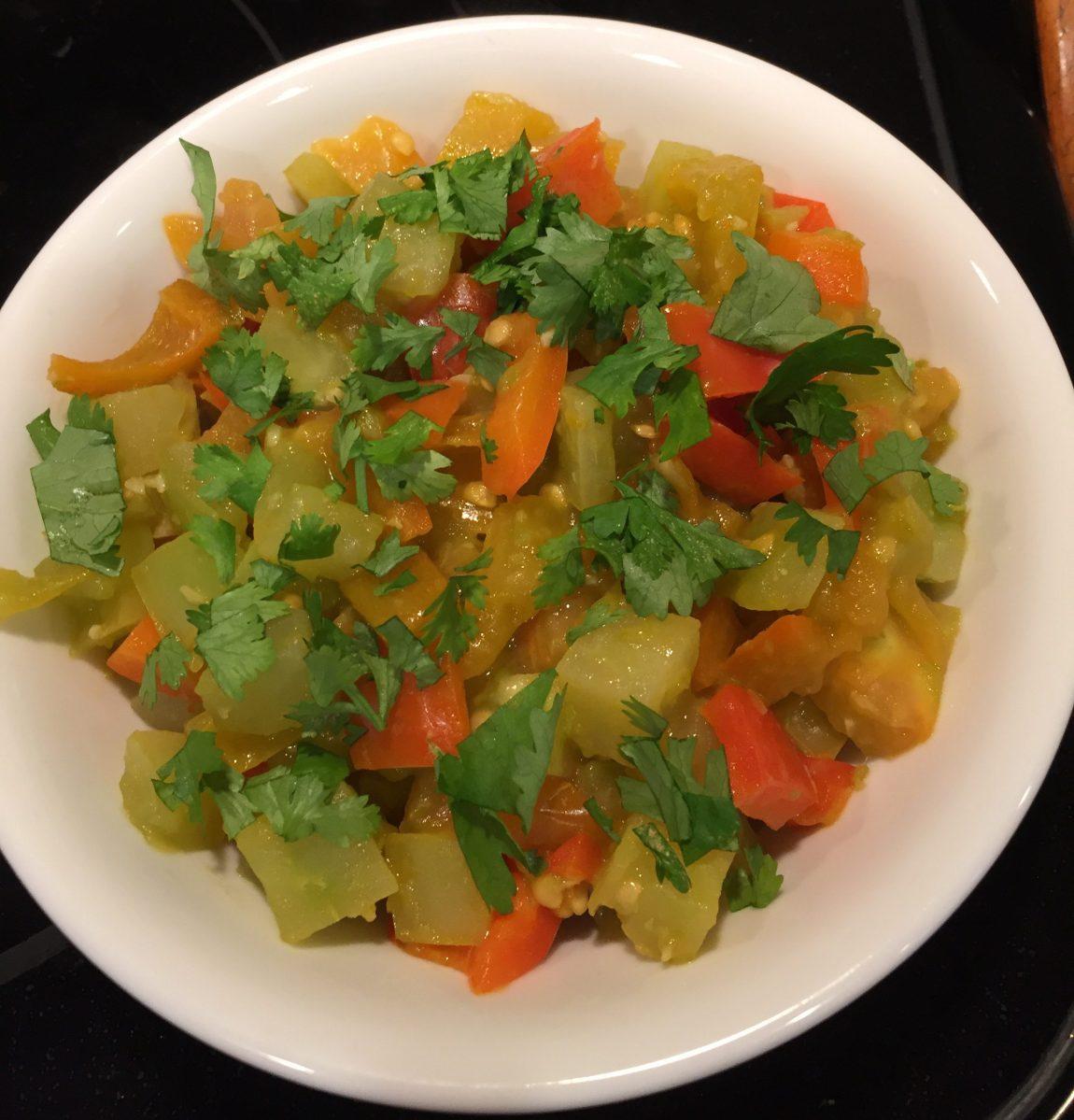 Green Tomato Sauté