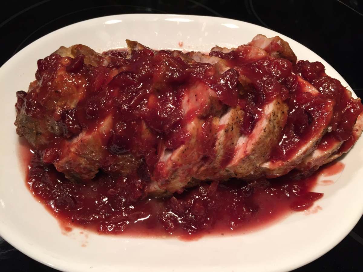 Cranberry-Orange Pork Roast