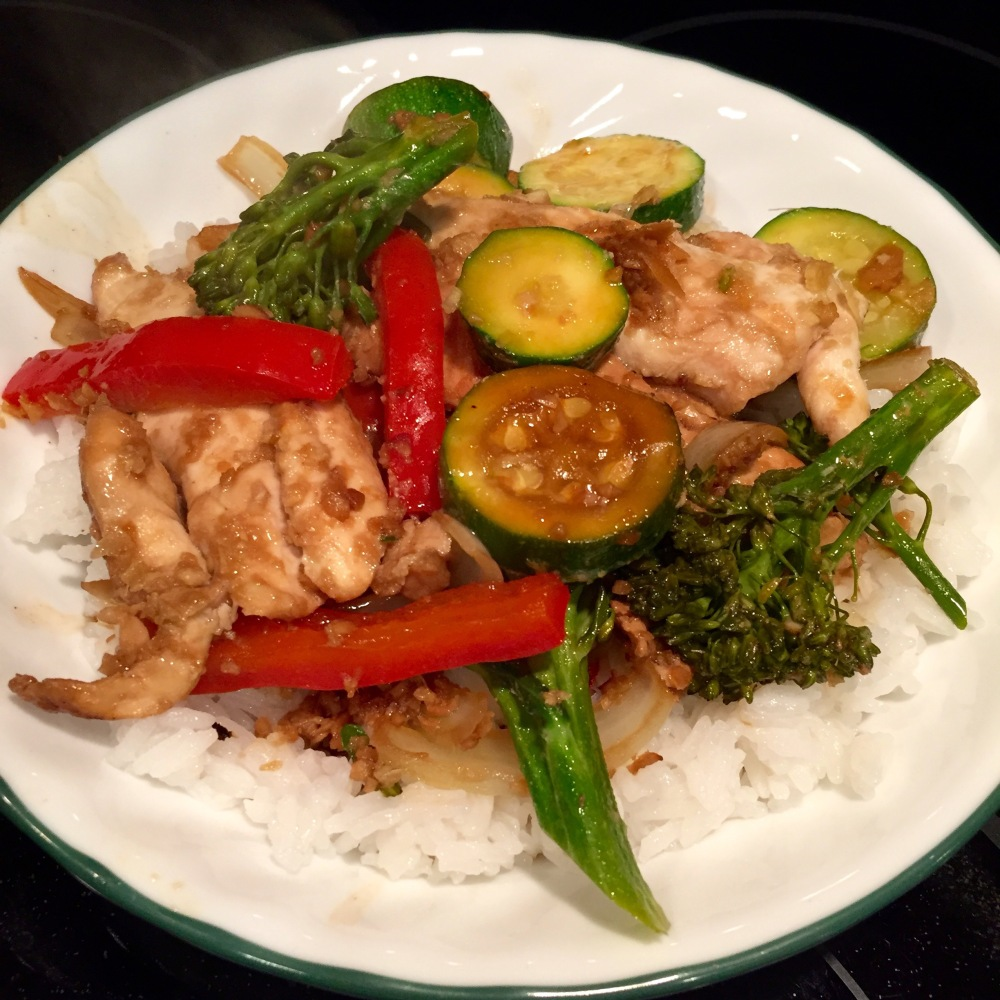 Ginger-Soy Chicken Packets