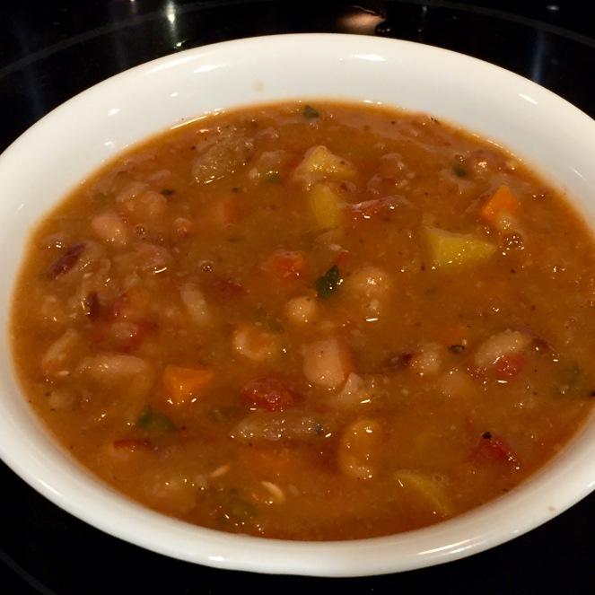 yellow-eye-bean-soup