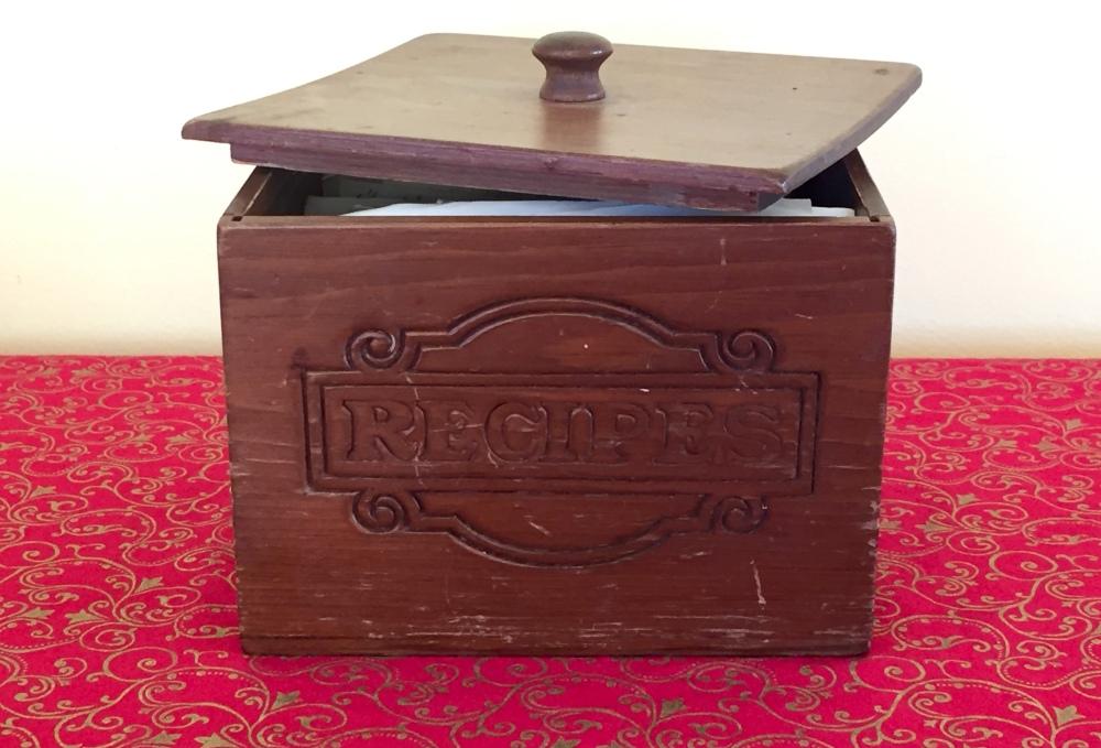 Mom's Recipe Box