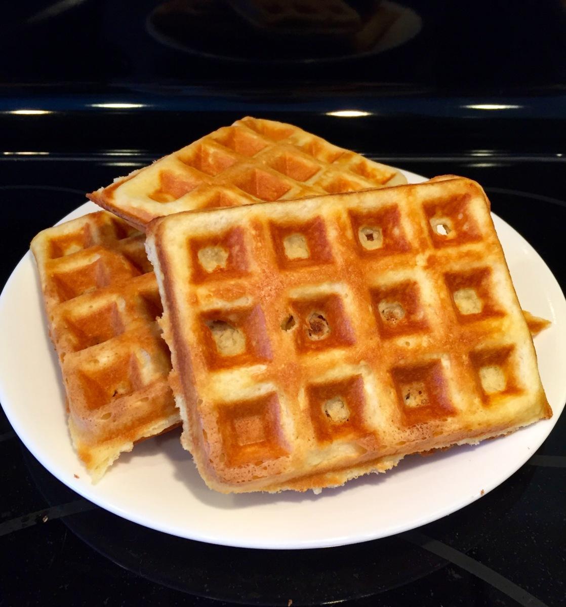 Buttery Waffles