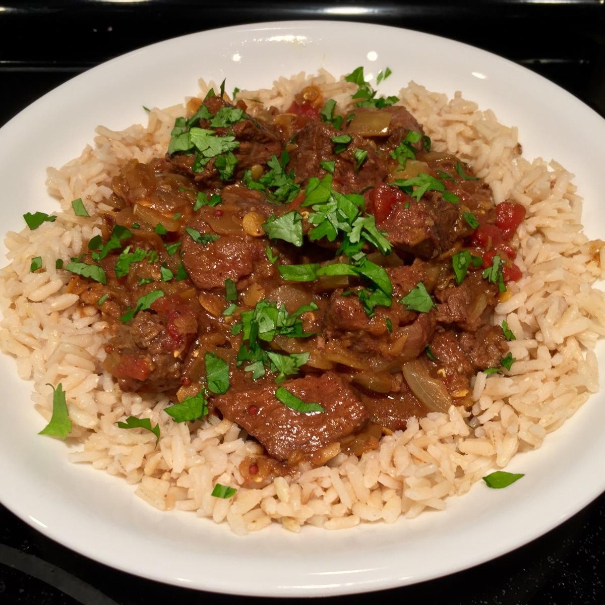 Beef Garam Masala