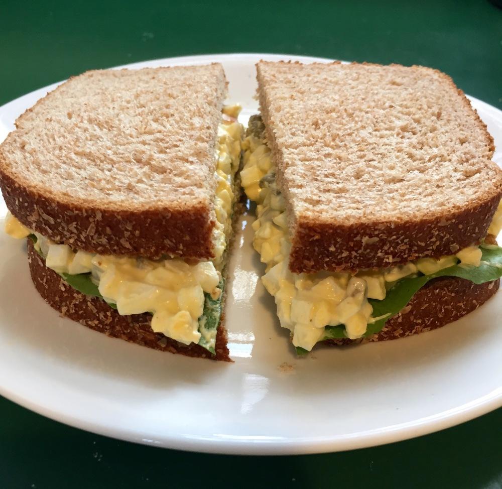Egg & Olive Sandwich