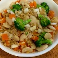Spelt-Butterbean Salad