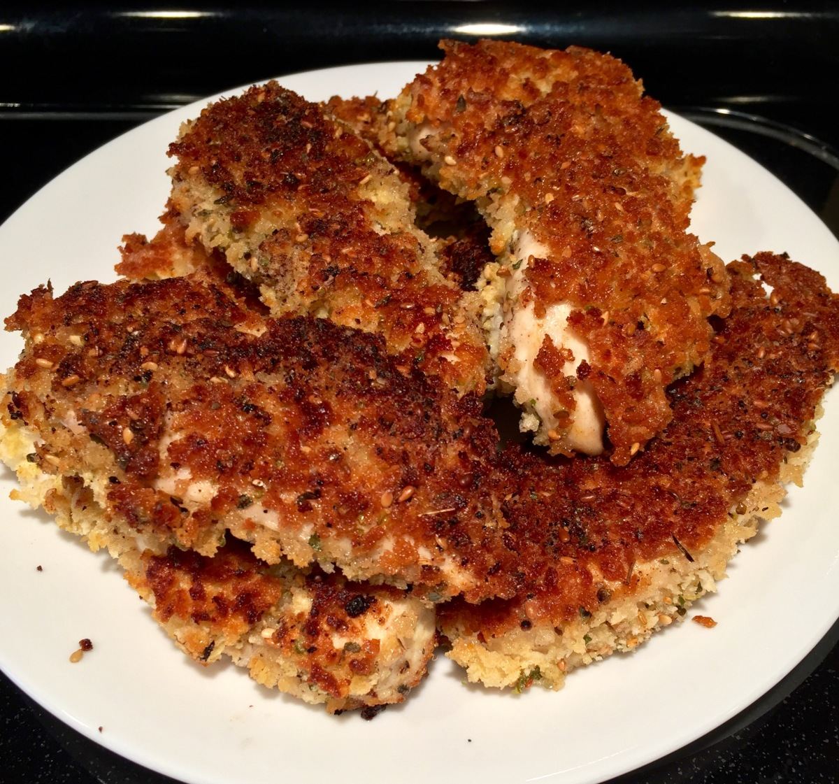 Za'atar-Crusted Chicken Tenders