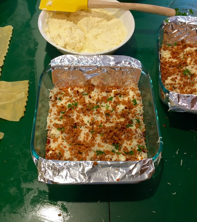 11 lasagna