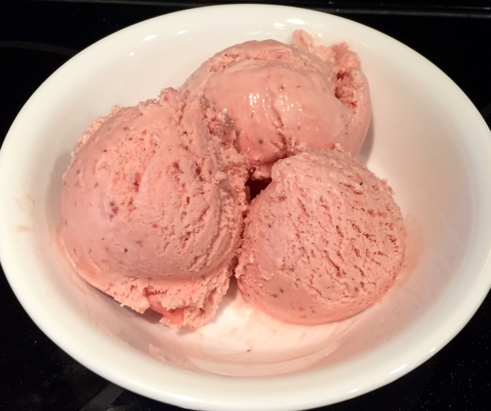 Strawberry Frozen Custard