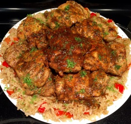 Adobo-Lime Chicken & Rice