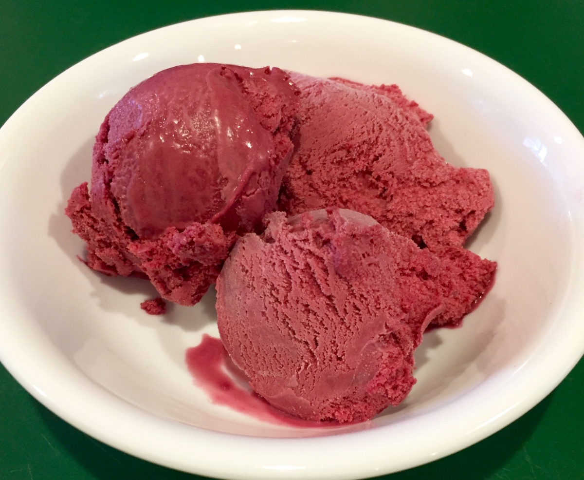 Black Raspberry Frozen Custard