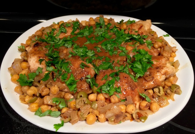 Moroccan Lemon Chicken