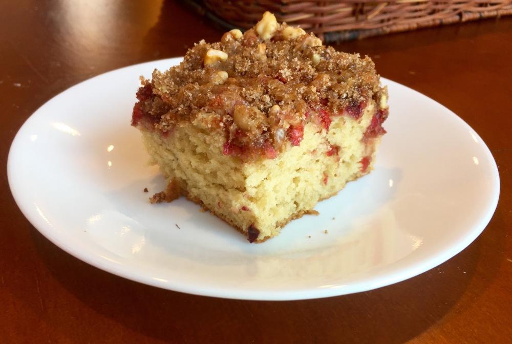 Cranberry-Orange Coffee Cake