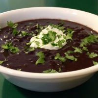 Best Ever Black Bean Soup for Instant Pot