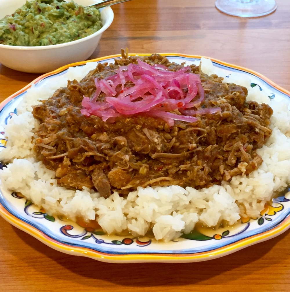 Shredded Pork in Tomatillo Sauce