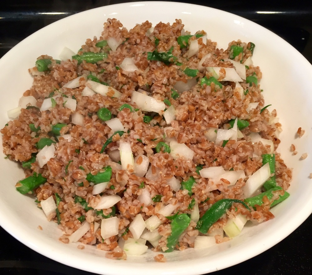 Vidalia, Green Bean, & Bulgur Salad