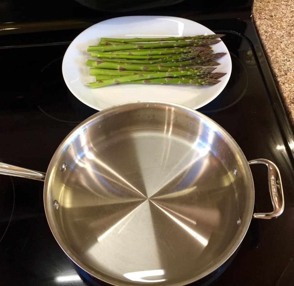 4 asparagus