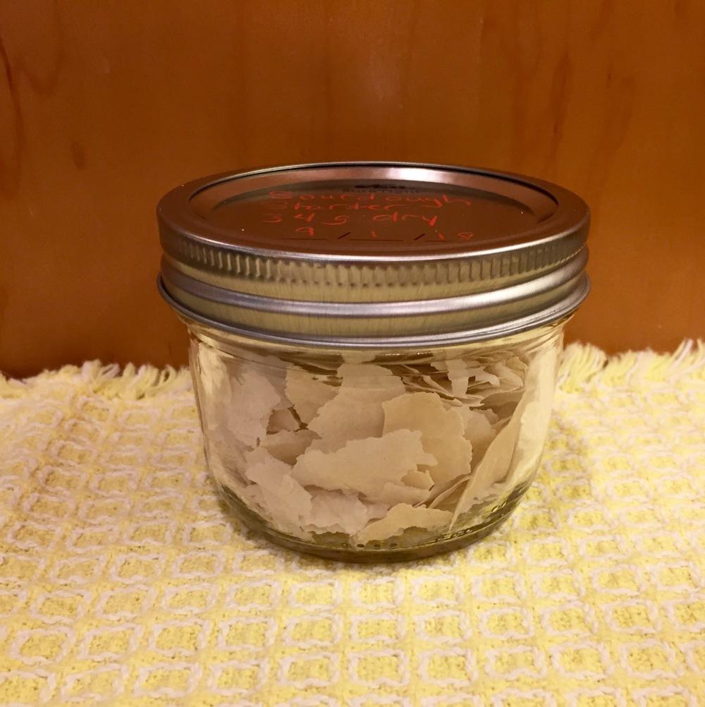 Dried Sourdough Starter
