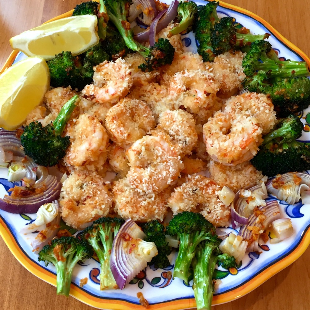 Spicy Sheet Pan Shrimp w Broccoli.jpg