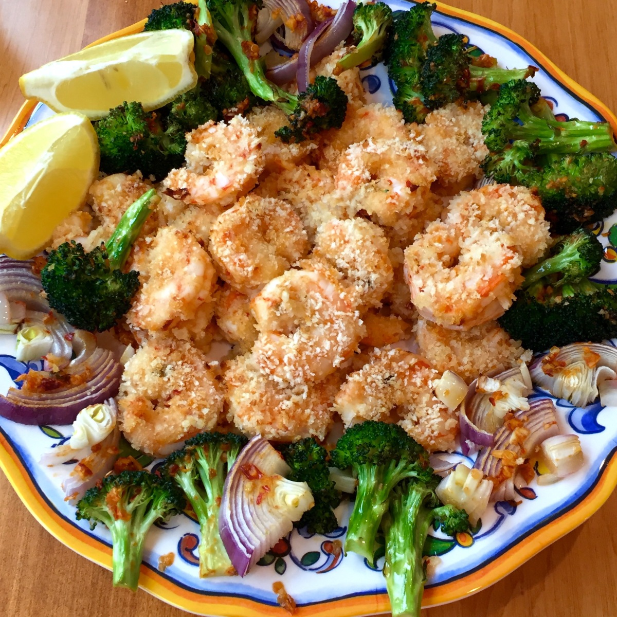 Spicy Sheet Pan Shrimp With Broccoli