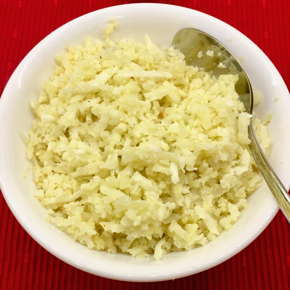 Riced Cauliflower (Plain)