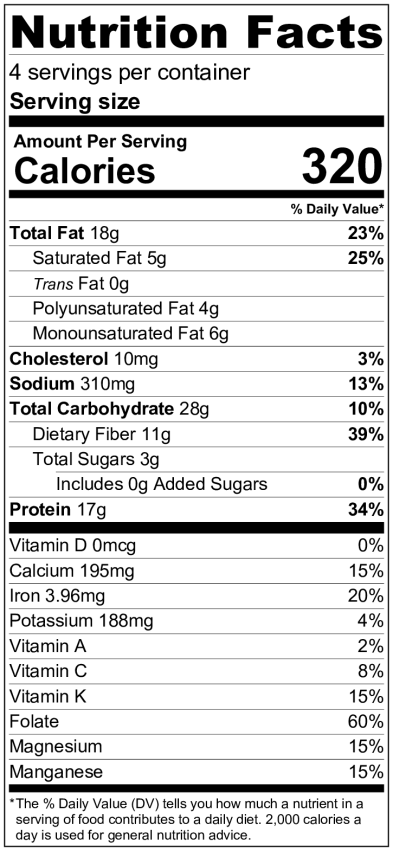 cbls NutritionLabel