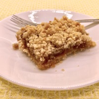 Apple Butter Crumb Bars