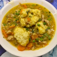Chicken and Dumplings - Slow Cooker