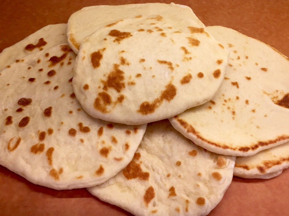 Greek (Pocketless) Pita